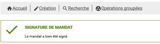 comment signer un mandat ?